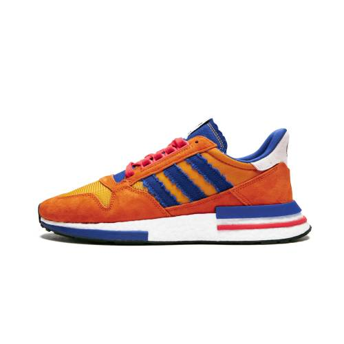 "アディダス ADIDAS 橙 オレンジ RESTOMOD""DRAGON GOKU"" スニーカー 【 ORANGE ADIDAS ZX 500 BALL Z COLLEGIATEROYAL HIRES 】 メンズ スニーカー"