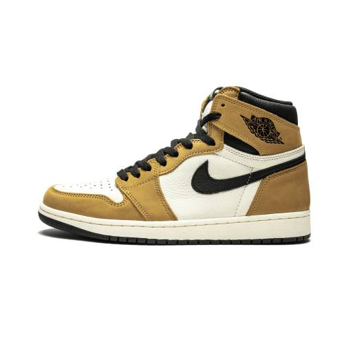 "ナイキ ジョーダン JORDAN エア ハイ ""ROOKIE YEAR"" スニーカー 【 AIR JORDAN 1 RETRO HIGH OG OF THE GOLDEN HARVEST BLACKSAIL 】 メンズ スニーカー"