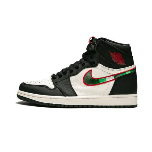 "ナイキ ジョーダン JORDAN エア ハイ Og""sports Born"" スニーカー メンズ 【 Air 1 Retro High Og""sports Illustrated / A Star Is Born"" 】 Black/varsity Red-university B"