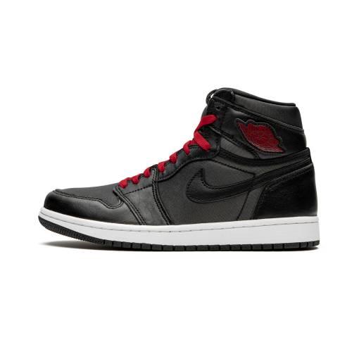 """ナイキ ジョーダン JORDAN エア ハイ Og""""black Red"""" スニーカー メンズ 【 Air 1 Retro High Og""""black Satin/gym Red"""" 】 Black/metallic Silver/gym Red-"""