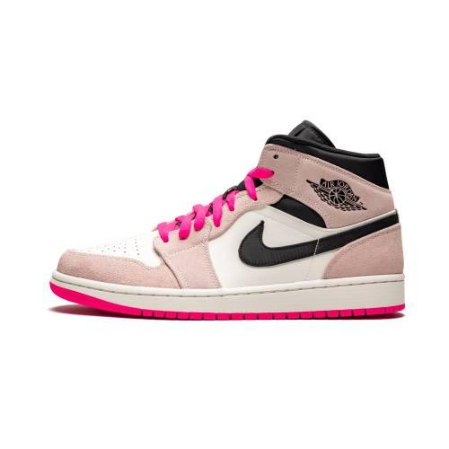"""ナイキ ジョーダン JORDAN エア ミッド Se""""crimson Pink"""" スニーカー メンズ 【 Air 1 Mid Se""""crimson Tint/hyper Pink"""" 】 Crimson Tint/hyper Pink-black"""