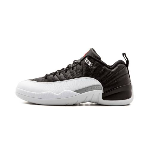 "ナイキ ジョーダン JORDAN エア Low""playoff"" スニーカー メンズ 【 Air 12 Retro Low""playoff"" 】 Black/varsity Red-white"