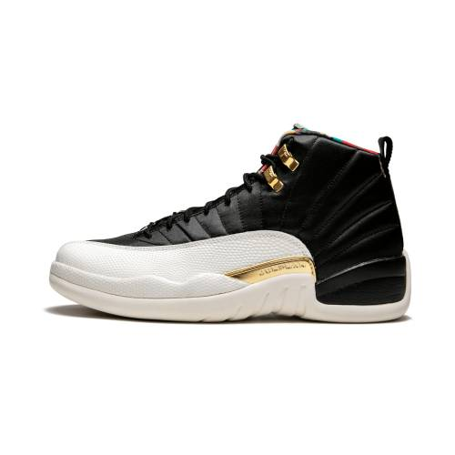 "ナイキ ジョーダン JORDAN エア Cny""chinese 2019"" スニーカー メンズ 【 Air 12 Retro Cny""chinese New Year 2019"" 】 Black/true Red-sail Noir"