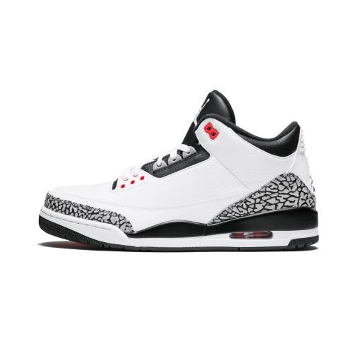 "ナイキ ジョーダン JORDAN エア Retro""infrared 23"" スニーカー メンズ 【 Air 3 Retro""infrared 23"" 】 White/black-cmnt Gry-infrrd 23"