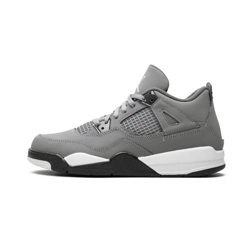 "ナイキ ジョーダン JORDAN ""cool Grey"" キッズ ベビー マタニティ 【 4 Retro (ps)""cool Grey"" 】 Cool Grey/chrome-dark Charcoal"