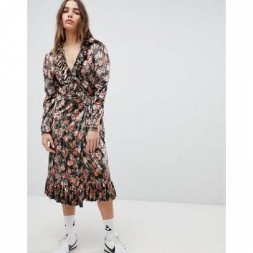 ドレス レディースファッション ワンピース 【 STYLENANDA PRINTED MAXI DRESS 】