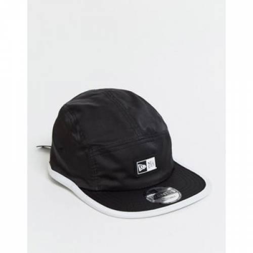 ロゴ キャップ 帽子 黒 ブラック バッグ メンズキャップ 【 BLACK NEW ERA TWENTY9 LOGO ADJUSTABLE CAP IN 】