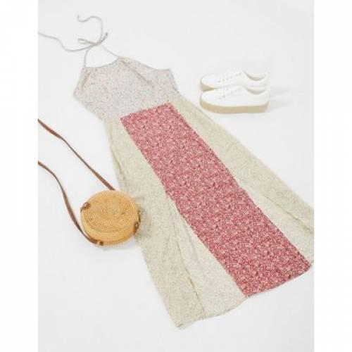 マッチ ドレス レディースファッション 【 LOLA MAY MIX N MATCH FLORAL MINI DRESS 】