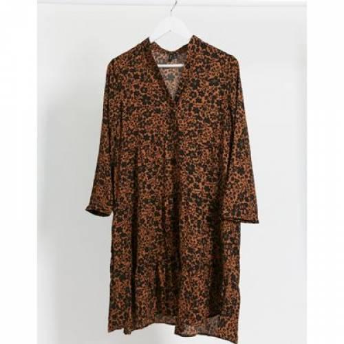 ドレス レディースファッション 【 VERO MODA TIERED SMOCK DRESS 】