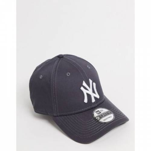 キャップ 帽子 バッグ メンズキャップ 【 NEW ERA 9FORTY NY CAP IN GRAPHITE 】