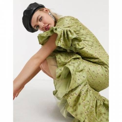 ドレス レディースファッション 【 NESAVAALI DROP HEM MINI DRESS 】