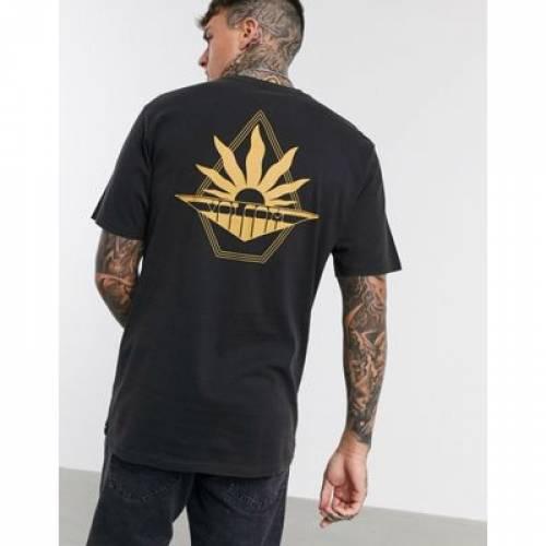 ボルコム Tシャツ 黒 ブラック メンズファッション トップス カットソー 【 VOLCOM BLACK BRIGHT TSHIRT IN 】