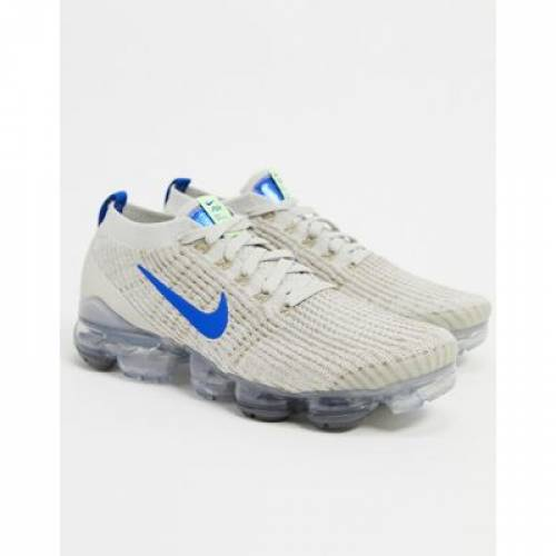 エア フライニット スニーカー 3.0 メンズ 【 AIR NIKE VAPORMAX FLYKNIT TRAINERS IN LIGHT BONE 】