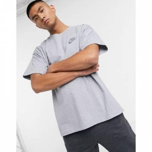 Tシャツ 紺 ネイビー メンズファッション トップス カットソー 【 NAVY NIKE REVIVAL TSHIRT IN PALE 】