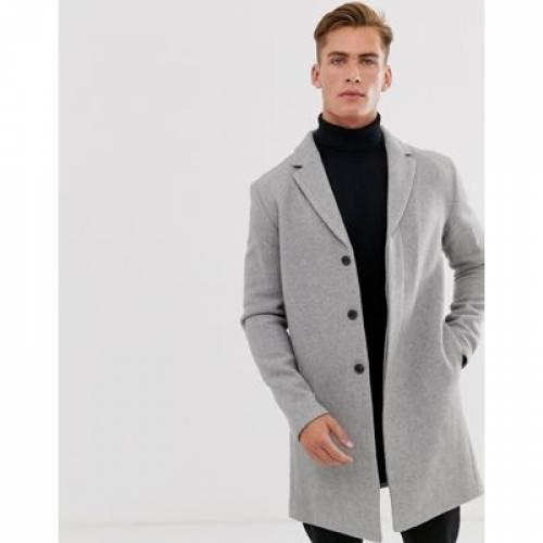 メンズファッション コート ジャケット 【 SELECTED HOMME RECYCLED WOOL OVERCOAT 】