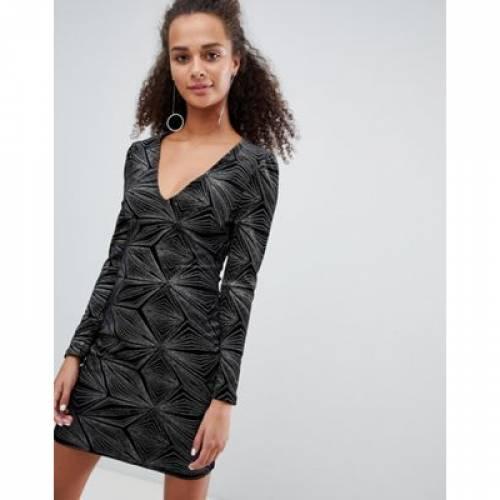 ドレス レディースファッション ワンピース 【 PARISIAN GLITTER BODYCON DRESS 】
