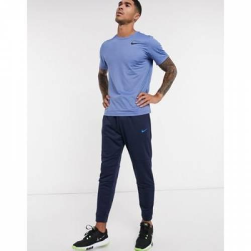 トレーニング Tシャツ 青 ブルー メンズファッション トップス カットソー 【 BLUE NIKE TRAINING HYPERDRY TSHIRT IN 】