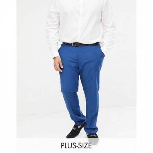青 ブルー メンズファッション ズボン パンツ 【 BLUE FARAH SKINNY WEDDING SUIT TROUSERS IN 】