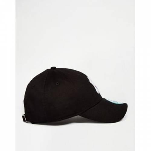 キャップ 帽子 黒 ブラック バッグ メンズキャップ 【 BLACK NEW ERA MLB FORTY NY ADJUSTABLE CAP IN 】