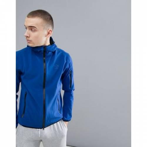 ノース 青 ブルー メンズファッション コート ジャケット 【 BLUE NORTH SAILS RAYMOND SOFTSHELL JACKET WITH DOUBLE HOOD IN 】