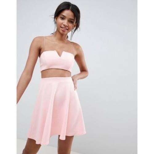ドレス レディースファッション ワンピース 【 ASOS DESIGN COORD MINI SKATER DRESS 】