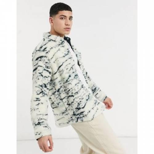 その他ファッションブランド カジュアル ファッション そのた PULLBEAR 超特価 メンズファッション 全商品オープニング価格 BORG ANIMAL OVERSHIRT PRINT トップス IN