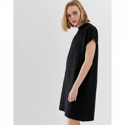 ハイ ドレス レディースファッション ワンピース 【 WEEKDAY HIGH NECK DRESS 】