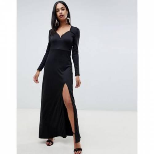 ドレス レディースファッション ワンピース 【 IVYREVEL SWEETHEART MAXI DRESS WITH SLIT FRONT 】