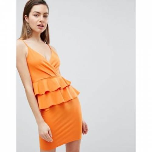 ドレス レディースファッション ワンピース 【 IVYREVEL CAMI MINI DRESS WITH DOUBLE RUFFLE PEPLUM 】
