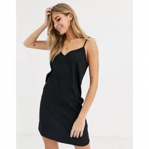 ドレス レディースファッション ワンピース 【 ASOS DESIGN MINI CAMI SLIP DRESS 】