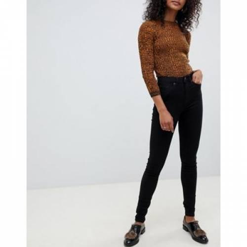 黒 ブラック レディースファッション ボトムス パンツBLACK SELECTED FEMME SKINNY JEAN I8mOvnyN0wP
