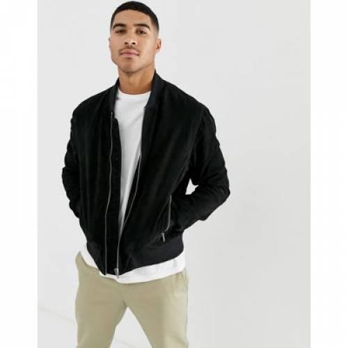 【海外限定】スエード スウェード メンズファッション コート ジャケット 【 BOLONGARO TREVOR SUEDE BOMBER JACKET 】