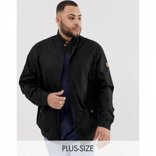 デューク 黒 ブラック 紺 ネイビー メンズファッション コート ジャケット 【 BLACK NAVY DUKE KING SIZE HARRINGTON JACKET IN AND 】