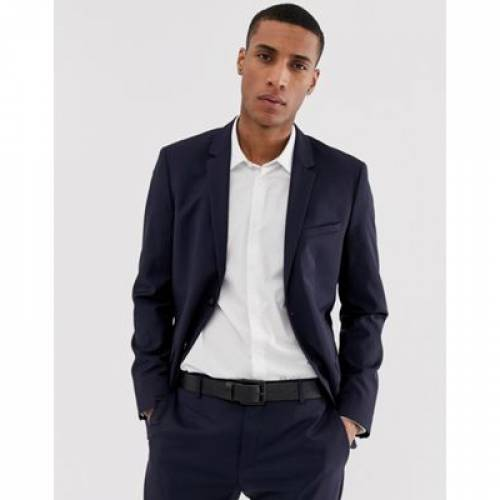 スリム メンズファッション コート ジャケット 【 SLIM CALVIN KLEIN FIT SUIT JACKET 】 ※セットアップではありません
