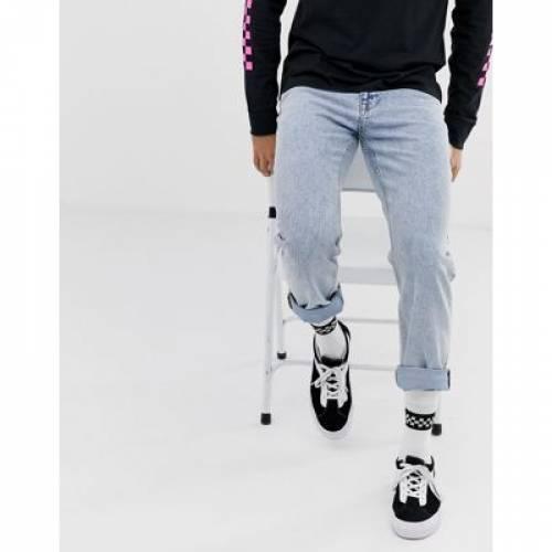ビンテージ ヴィンテージ メンズファッション ズボン パンツ 【 VINTAGE ASOS DESIGN ORIGINAL FIT JEANS IN STONE WASH 】