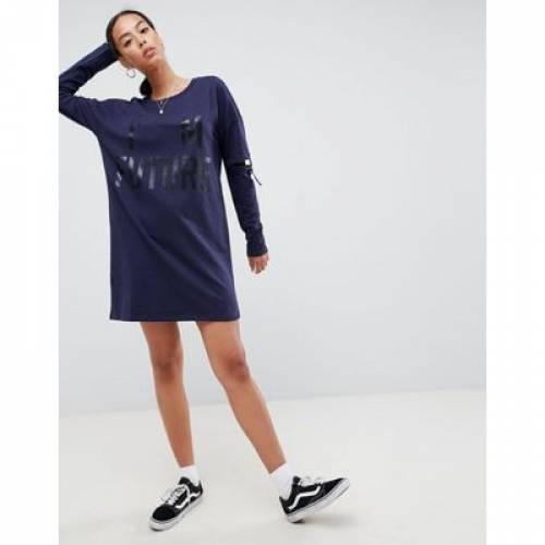 ドレス バックル レディースファッション ワンピース 【 NOISY MAY TALL LONG SWEATER DRESS WITH BUCKLE SLEEVES 】