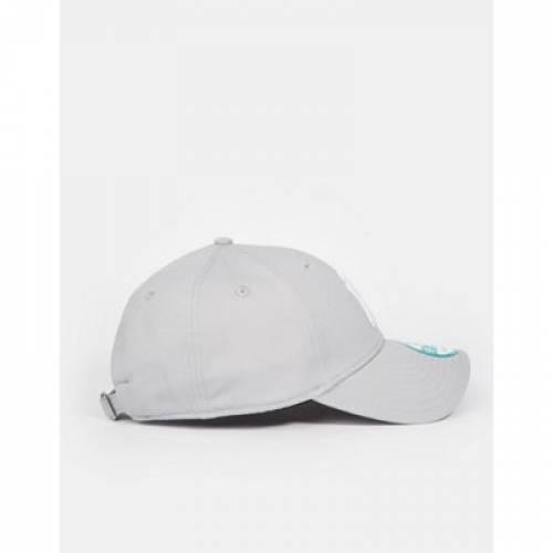 キャップ 帽子 GRAY灰色 グレイ バッグ メンズキャップ 【 GREY NEW ERA MLB FORTY NY ADJUSTABLE CAP IN 】