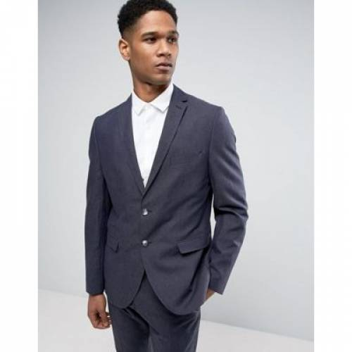 スリム メンズファッション コート ジャケット 【 SLIM SELECTED HOMME SUIT JACKET IN LINEN MIX 】 ※セットアップではありません