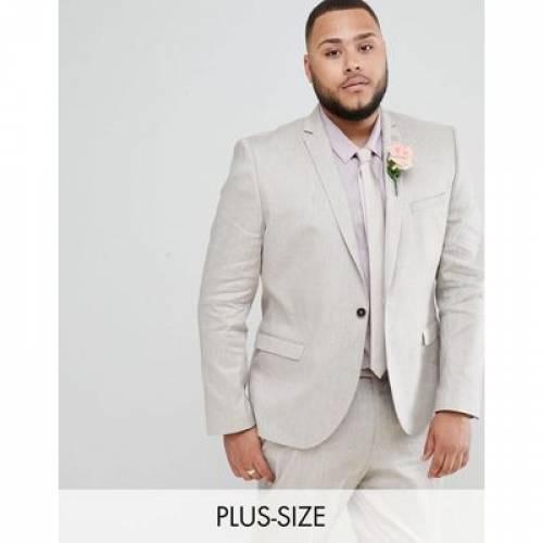 灰色 グレ メンズファッション コート ジャケット 【 TWISTED TAILOR WEDDING SUIT JACKET IN GREY LINEN 】 ※セットアップではありません