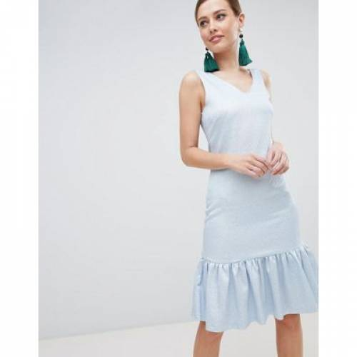 ノンスリーブ ドレス レディースファッション ワンピース 【 SLEEVELESS CLOSET LONDON DROP HEM DRESS 】