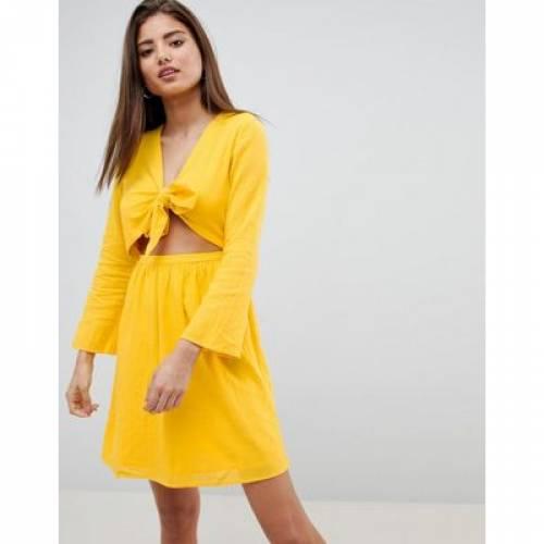 ドレス レディースファッション ワンピース 【 NOISY MAY CUT OUT MINI DRESS 】