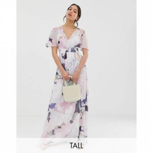 スリーブ ドレス レディースファッション ワンピース 【 SLEEVE LITTLE MISTRESS TALL KIMONO PRINTED MAXI DRESS 】