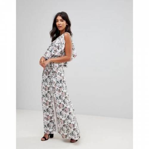 ドレス レディースファッション ワンピース 【 MILLIE MACKINTOSH SWISS ONE SHOULDER FLORAL MAXI DRESS 】