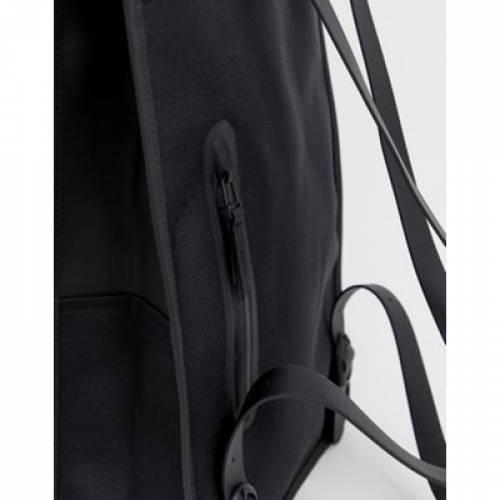 バックパック バッグ リュックサック 黒 ブラック メンズバッグBLACK RAINS 1220 WATERPROOF BACKPACK INY7fb6vyg