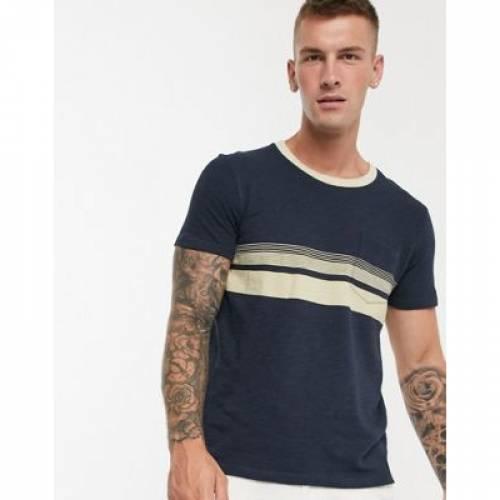 Tシャツ メンズファッション トップス カットソー 【 SELECTED HOMME COTTON POCKET TSHIRT 】