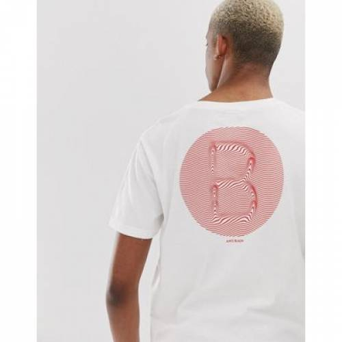 Tシャツ メンズファッション トップス カットソー 【 SCOTCH AND SODA BACK PRINT TSHIRT 】