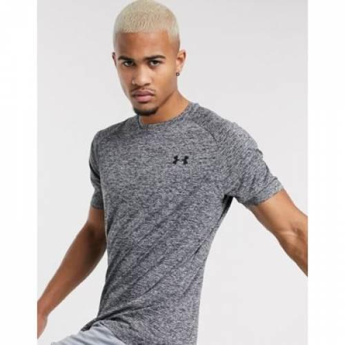 テック Tシャツ GRAY灰色 グレイ 2.0 メンズファッション トップス カットソー 【 GREY UNDER ARMOUR TECH TSHIRT IN 】