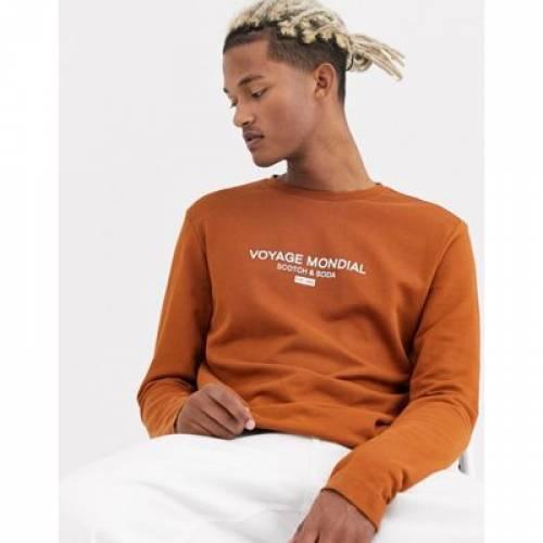 【スーパーセール中! 6/11深夜2時迄】ロゴ スリーブ & メンズファッション トップス Tシャツ カットソー 【 SLEEVE SCOTCH SODA LOGO LONG TOP 】