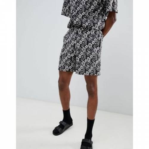 ショーツ ハーフパンツ メンズファッション ズボン パンツ 【 SACRED HAWK SHORTS IN FLORAL PRINT 】