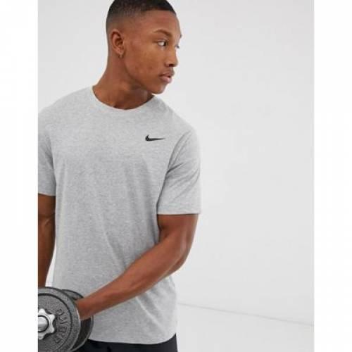 トレーニング ドライフィット Tシャツ GRAY灰色 グレイ 2.0 メンズファッション トップス カットソー 【 DRIFIT GREY NIKE TRAINING TSHIRT IN 】